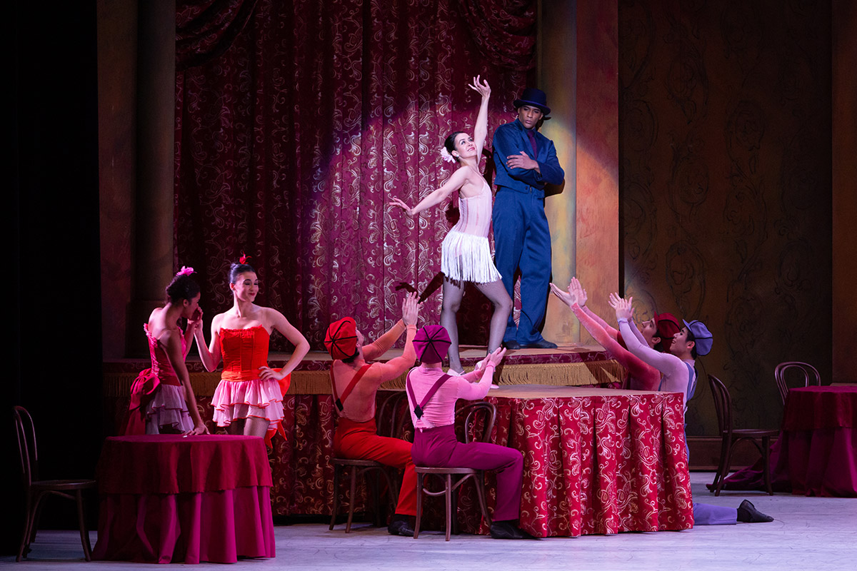 Washington Ballet in Slaughter on Tenth Avenue.© Ximena Brunette, xmbphotography. (Click image for larger version)