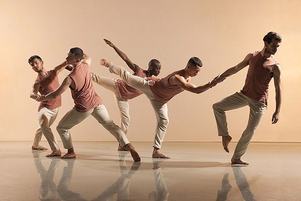 Richard Alston Dance Company in <I>Voices and Light Footsteps</I>.<br />© Chris Nash. (Click image for larger version)