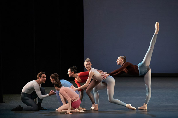 New York City Ballet in Justin Peck's <I>Rotunda</I>.<br />© Erin Baiano. (Click image for larger version)