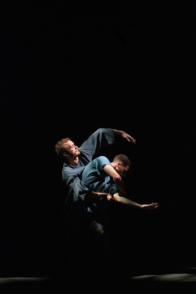 Harry Price and Will Thompson in <I>Ripple</I>.<br />© George Piper. (Click image for larger version)