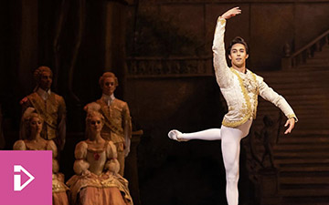 BBC flyer for Men at the Barre: Inside the Royal Ballet.© BBC. (Click image for larger version)