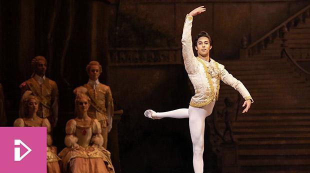 BBC flyer for Men at the Barre: Inside the Royal Ballet.© BBC. (Click image for larger version)