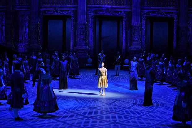 Alina Cojocaru in <I>Cinderella</I>.<br />© Laurent Liotardo. (Click image for larger version)