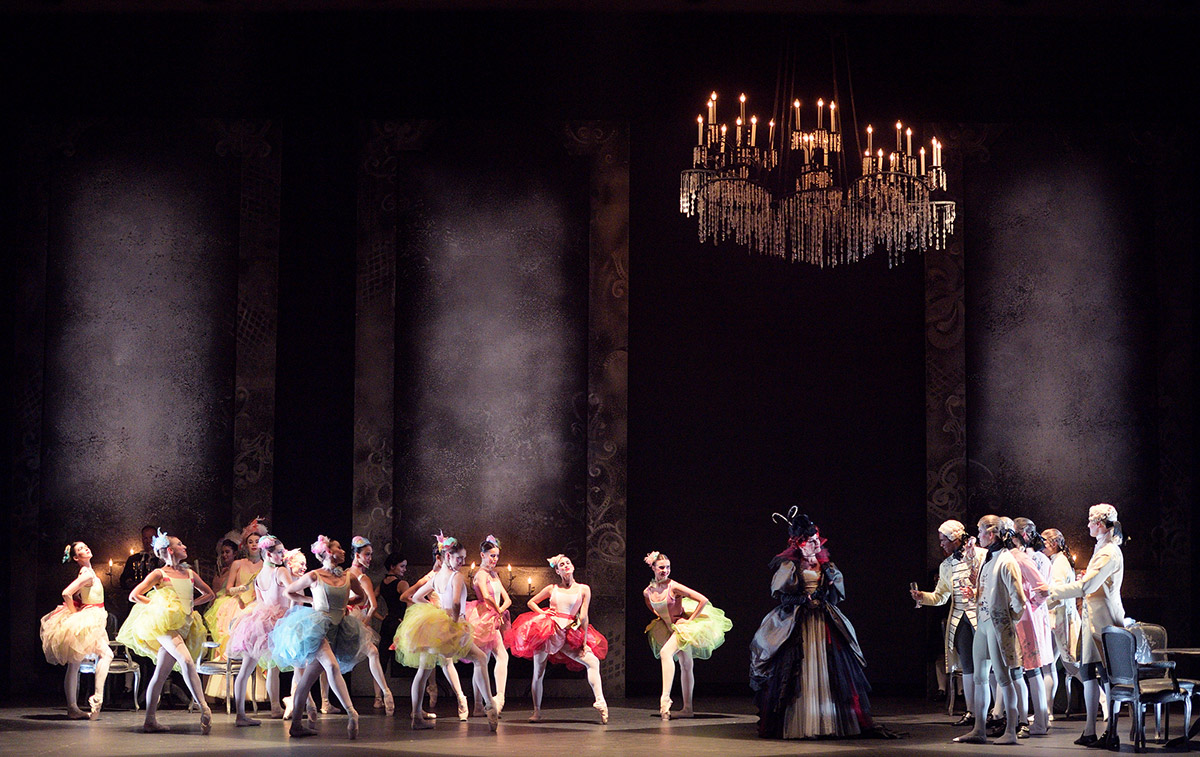 English National Ballet in Manon.© Laurent Liotardo. (Click image for larger version)