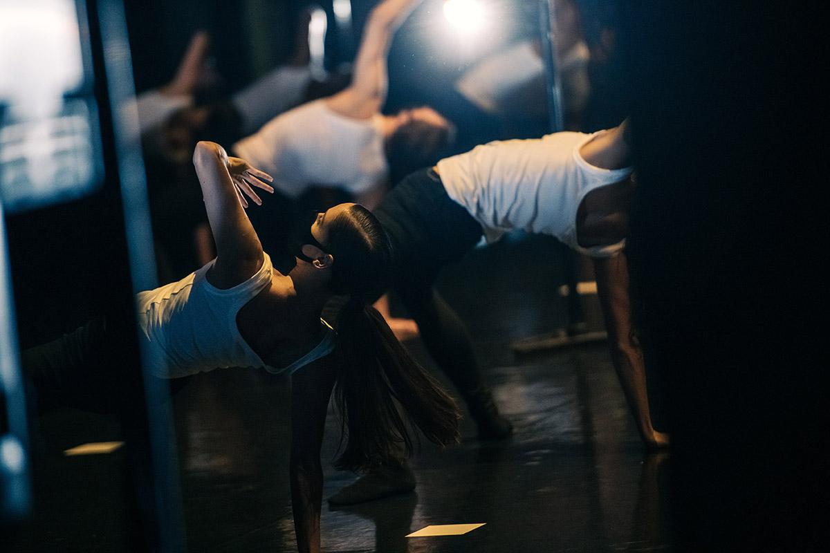 Scottish Ballet in the filmed performance of <I>Catalyst</I> by Nicholas Shoesmith.<br />© Mihaela Bodlovic. (Click image for larger version)