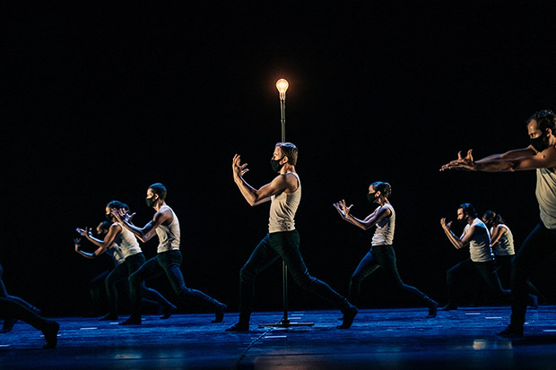 Scottish Ballet in the filmed performance of Catalyst by Nicholas Shoesmith.© Mihaela Bodlovic. (Click image for larger version)