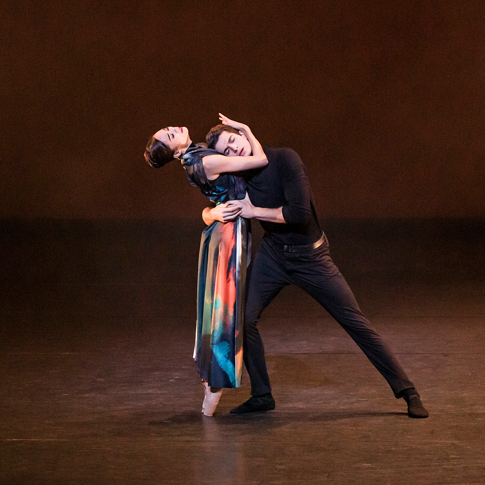 Fumi Kaneko and Reece Clarke in In Our Wishes.© Tristram Kenton ROH. (Click image for larger version)