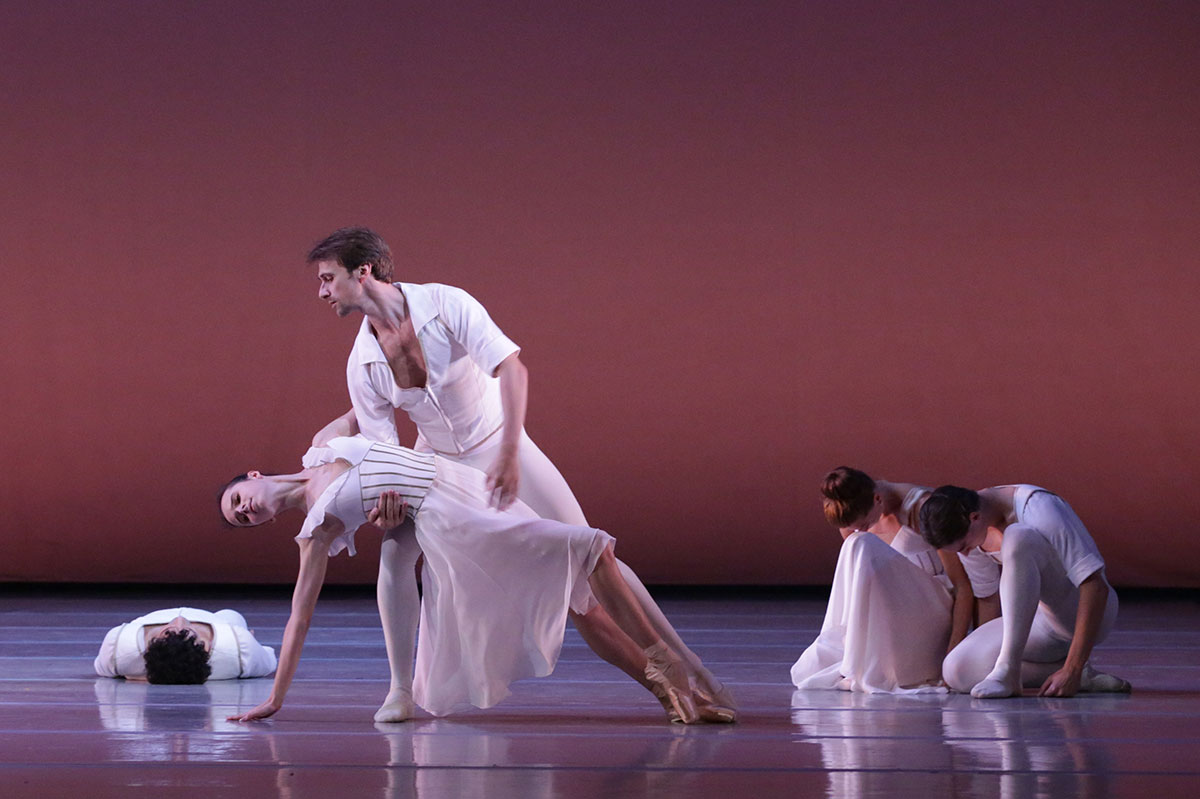 Mariinsky Ballet in <I>Seven Sonatas</I>.<br />© Natasha Razina. (Click image for larger version)