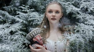 The publicity image for The Nutcracker at The REP with Karla Doorbar.© Bella Kotak. (Click image for larger version)