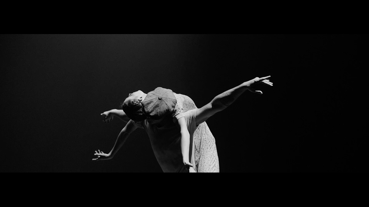 Emma Hawes and Francesco Gabriele Frola in <I>Senseless Kindness</I>, a film by Thomas James with choreography by Yuri Possokhov.<br />© English National Ballet. (Click image for larger version)