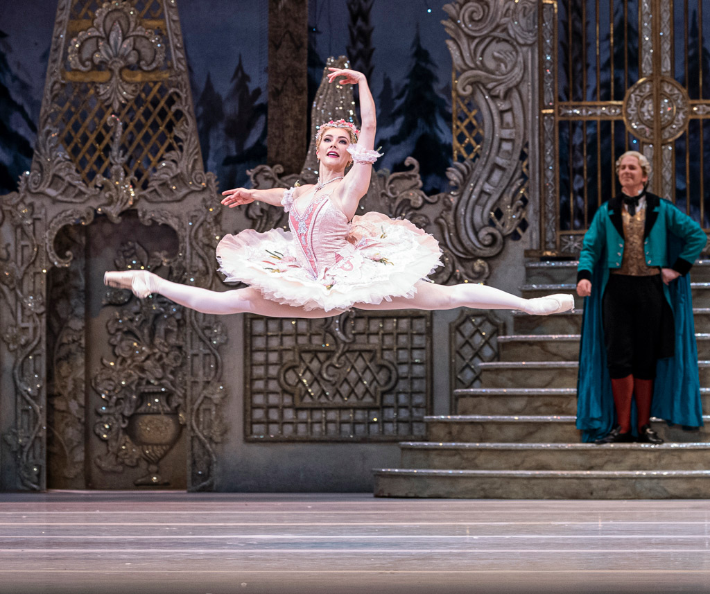 Claire Calvert in The Nutcracker.© Foteini Christofilopoulou, courtesy the Royal Opera House. (Click image for larger version)