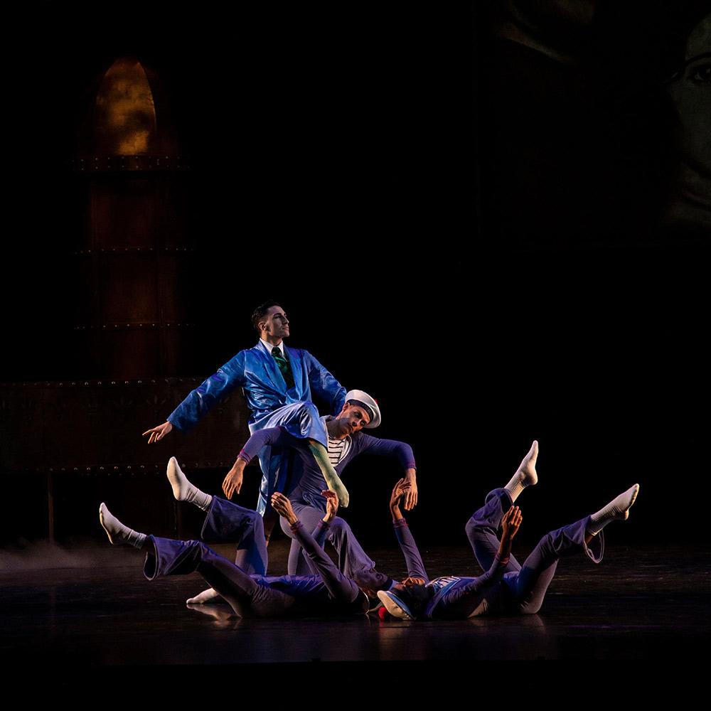 Sarasota Ballet in Matthew Bourne's The Infernal Galop.© Matthew Holler/Sarasota Ballet. (Click image for larger version)