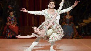 Elisa Badenes and Friedemann Vogel in Marcia Haydée's The Sleeping Beauty.© Stuttgart Ballett. (Click image for larger version)
