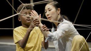 Natasha Gilmore and Barrowland Ballet's Strings.© Blair Young. (Click image for larger version)