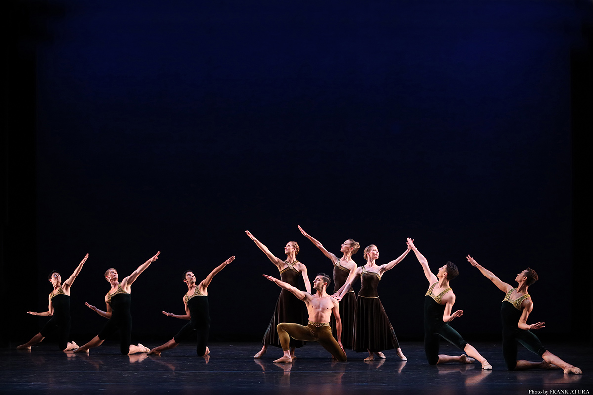 Sarasota Ballet in Paul Taylor's Brandenburgs.© Frank Atura. (Click image for larger version)