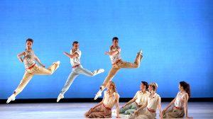 Sarasota Ballet in Paul Taylor's Company B.© Frank Atura. (Click image for larger version)