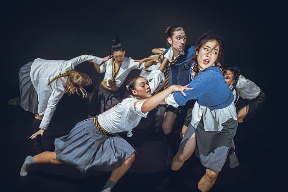 Nederlands Dans Theater in Shechter's From England With Love.© Rahi Rezvani. (Click image for larger version)