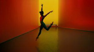 Frances Chung in Thatcher's Colorforms.© San Francisco Ballet. (Click image for larger version)