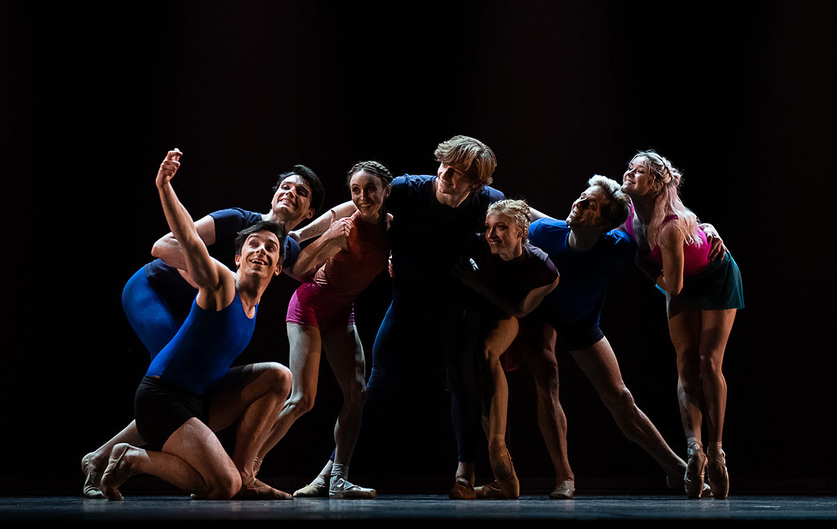 American Ballet Theatre in <I>Bernstein in a Bubble</I>.<br />© Christopher Duggan. (Click image for larger version)