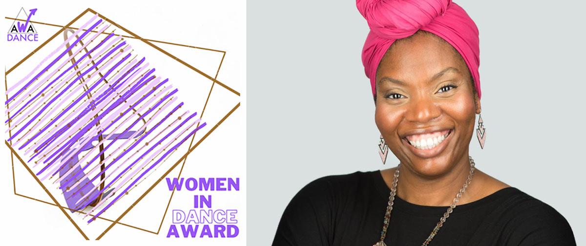 Vicki Igbokwe, winner of the 2020 Women in Dance Award.<br />© John Cassidy. (Click image for larger version)