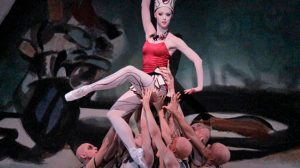 Teresa Reichlen in George Balanchine's Prodigal Son.© Paul Kolnik. (Click image for larger version)