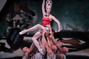 Teresa Reichlen in George Balanchine's Prodigal Son.© Paul Kolnik. (Click image for larger version)