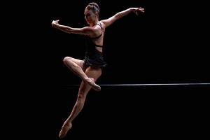 Tiler Peck in The Barre Project.© CLI Studios/The Barre Project. (Click image for larger version)