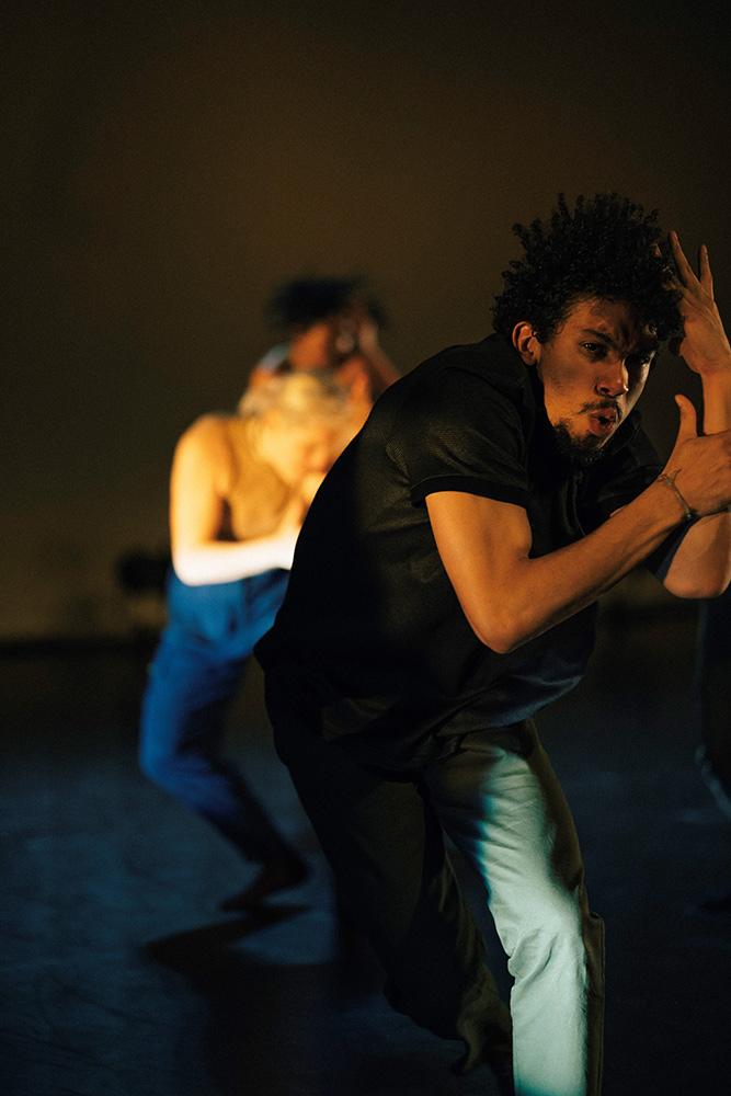 Just Us Hip Hop Apprentice Co - Cache Thake and Penelope Klamert.© Elliott Banks. (Click image for larger version)