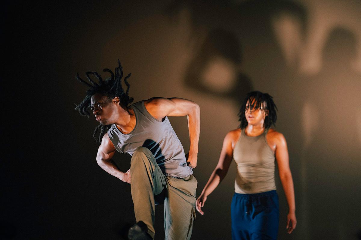 Just Us Hip Hop Apprenctice Co - Dilyon Graham and Aisha Webber.© Elliott Banks. (Click image for larger version)