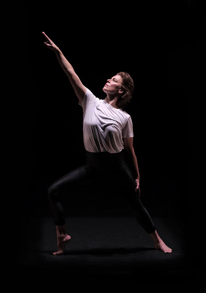 Feature image of Rosie Kay in Adult Female Dancer.© Brian Slater. (Click image for larger version)