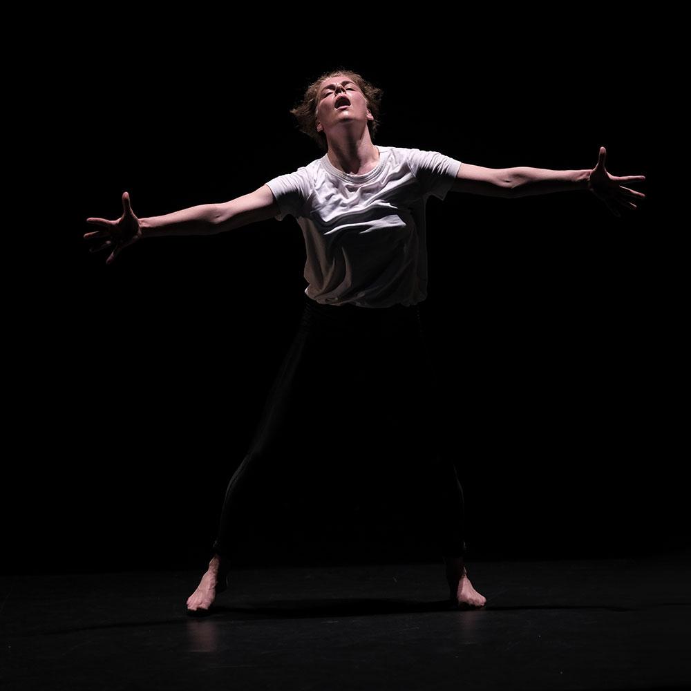 Rosie Kay in Adult Female Dancer.© Brian Slater. (Click image for larger version)
