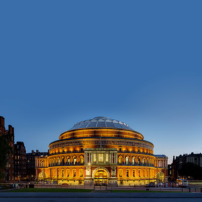 The Royal Albert Hall where the Gala takes place on the 3 June 2021.<br />© David Iliff. (Click image for larger version)