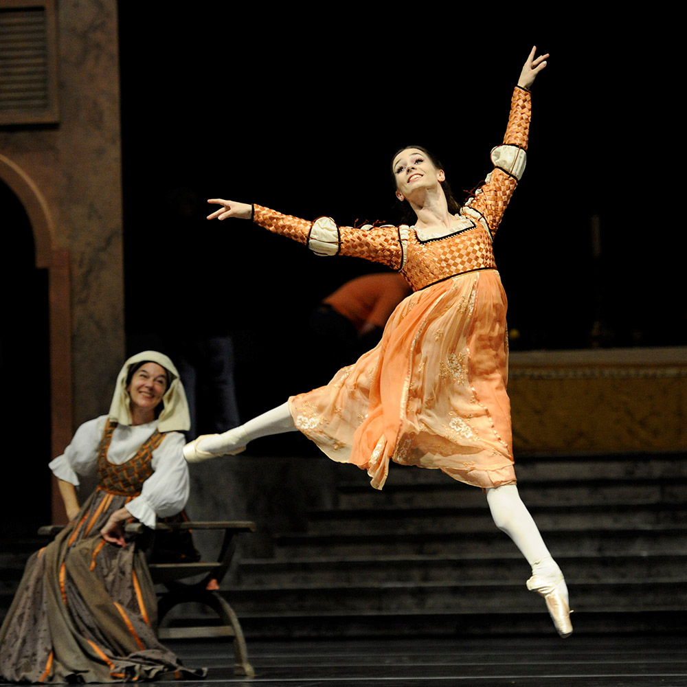 Maria Kochetkova in Tomasson's Romeo and Juliet.© Erik Tomasson. (Click image for larger version)