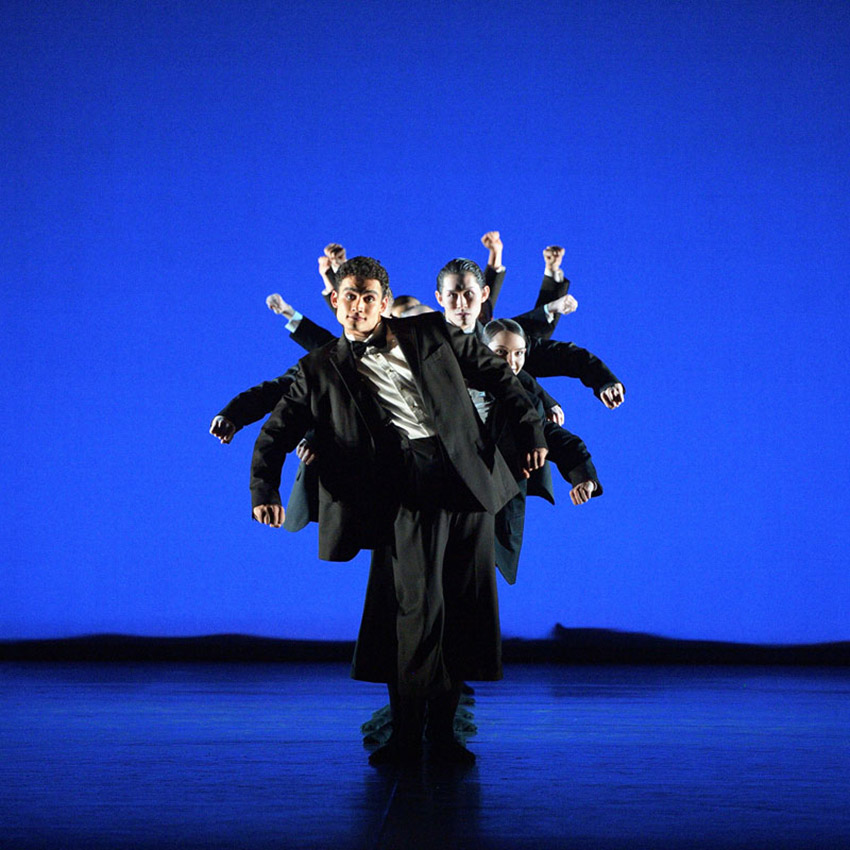 English National Ballet in Arielle Smith's <I>Jolly Folly</I>.<br />© Laurent Liotardo. (Click image for larger version)