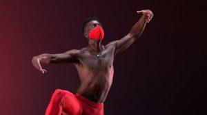 Brandon Randolph in Jealousy.© Mark Morris Dance Group. (Click image for larger version)