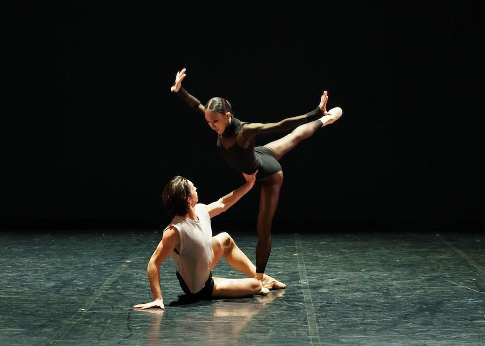 Lorenzo Trossello and Minju Kang in Kenneth Tindall's States of Mind.© Emma Kauldhar. (Click image for larger version)