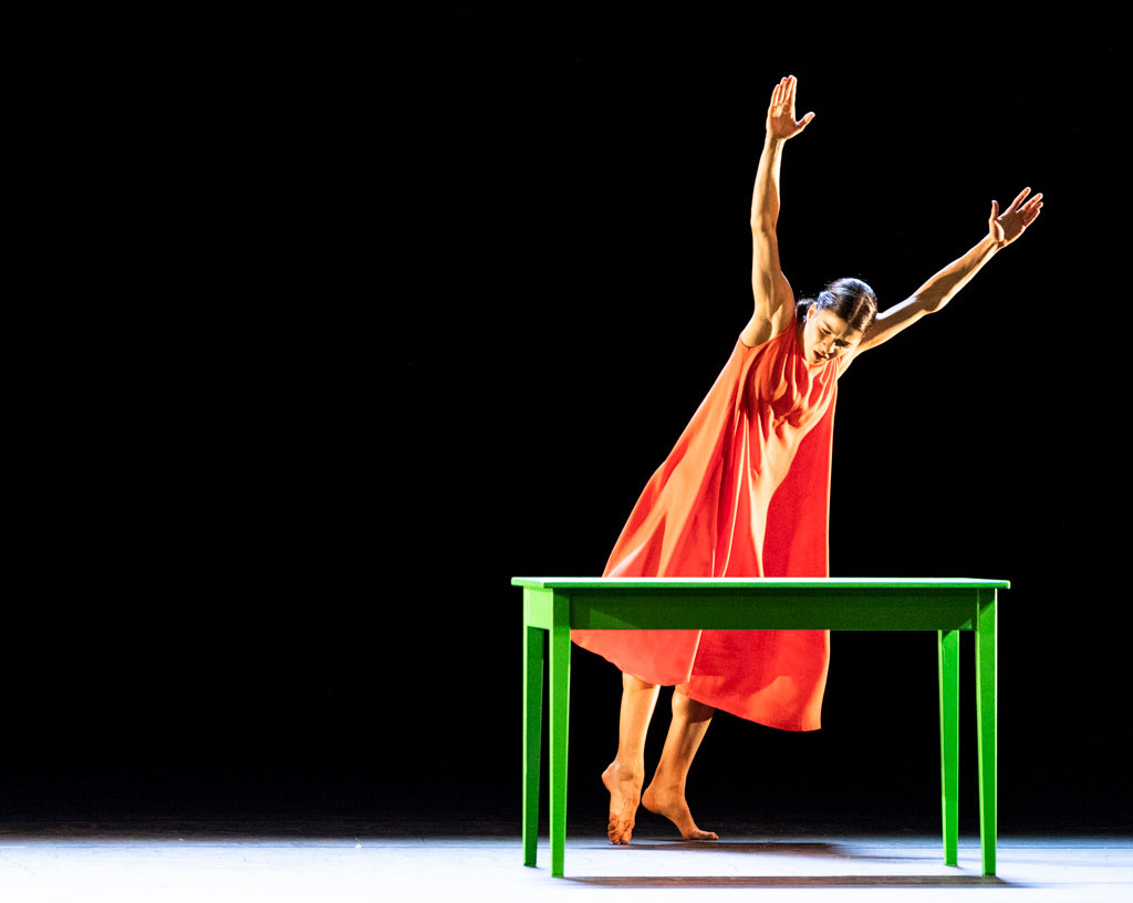 Mayara Magri in Woman with water.© Foteini Christofilopoulou, courtesy the Royal Opera House. (Click image for larger version)