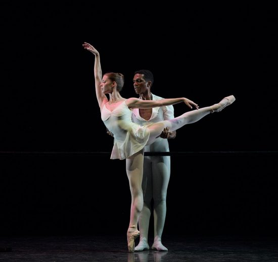 Emma Hawes and Junor Souza in Three Preludes.© Laurent Liotardo. (Click image for larger version)