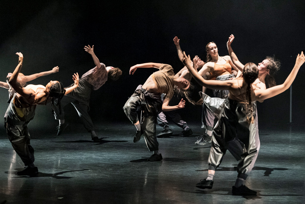 National Youth Dance Company in <I>Speak Volumes</I>.<br />© Foteini Christofilopoulou. (Click image for larger version)