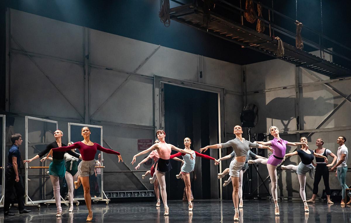 Scottish Ballet in Starstruck - Gene Kelly's Love Letter to Ballet.© Andrew Ross. (Click image for larger version)
