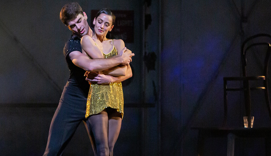 Sophie Martin and Evan Loudon in Starstruck - Gene Kelly's Love Letter to Ballet.© Andrew Ross. (Click image for larger version)