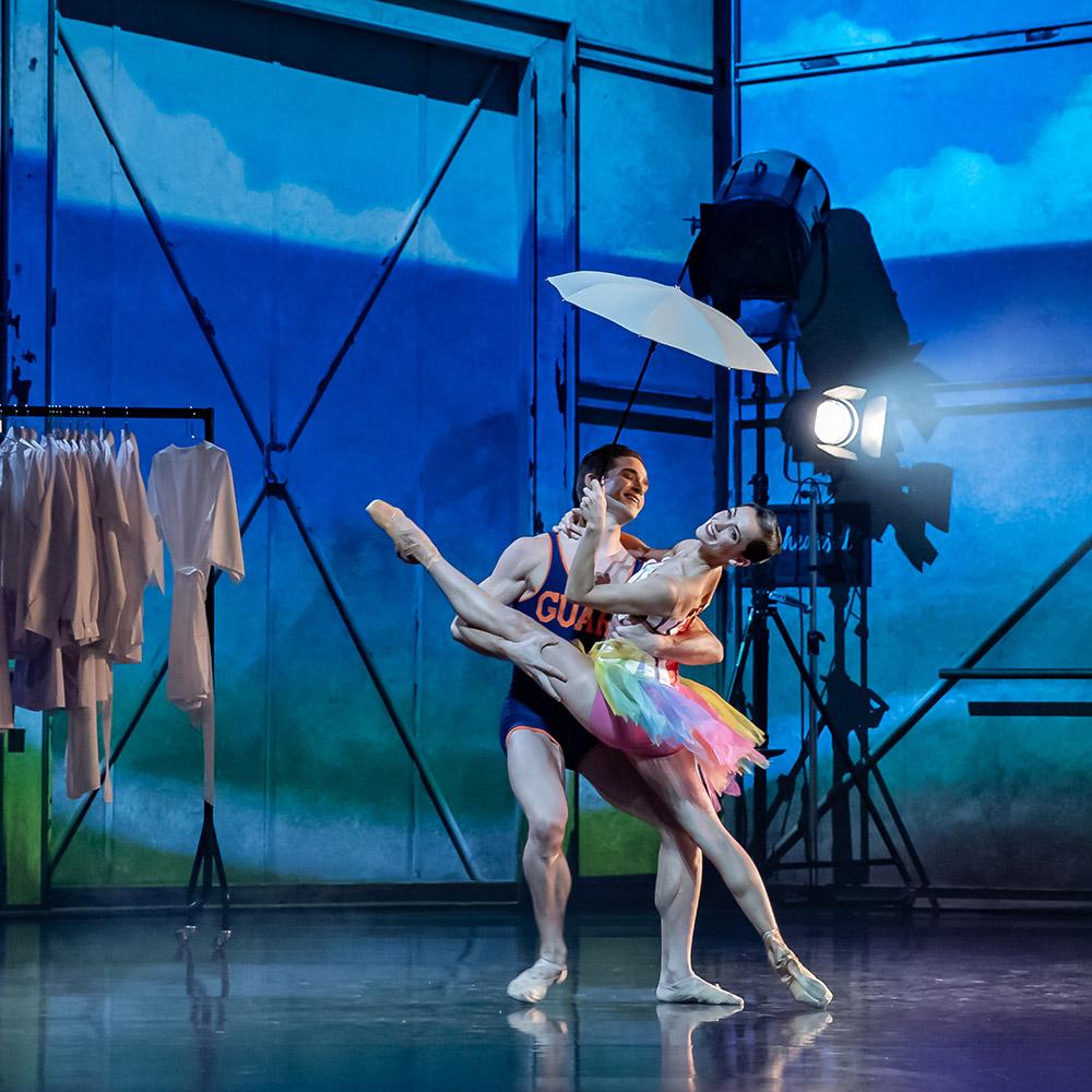 Sophie Martin and Javier Andreu in Starstruck - Gene Kelly's Love Letter to Ballet.© Andrew Ross. (Click image for larger version)