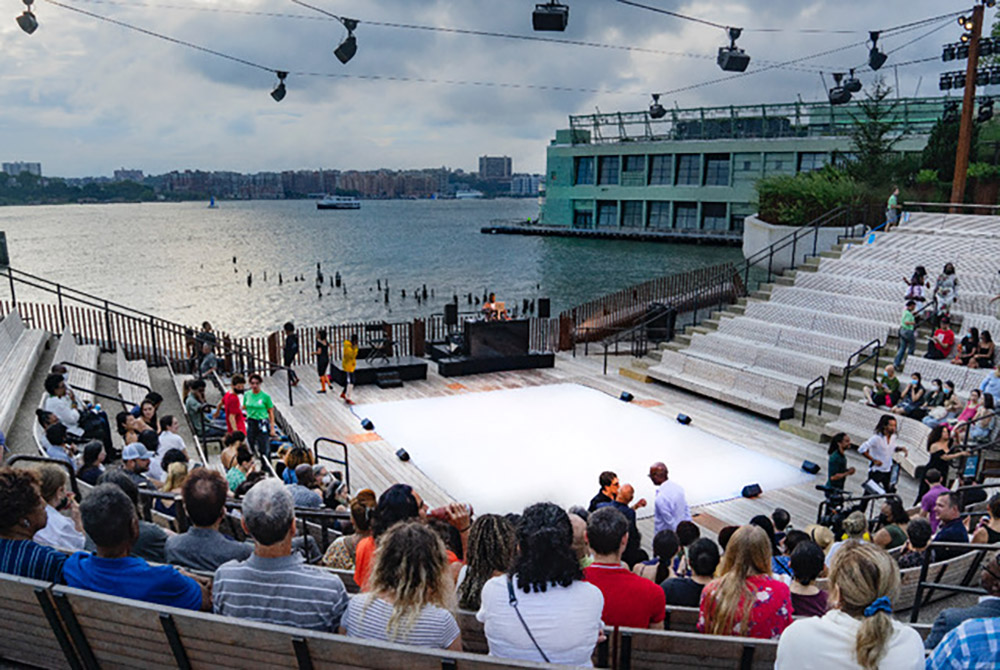 The Little Island Amph stage.© Don Burmeister. (Click image for larger version)