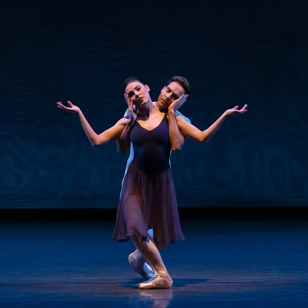 Tiler Peck and Gonzalo Garcia in Opus 19/The Dreamer.© Erin Baiano. (Click image for larger version)