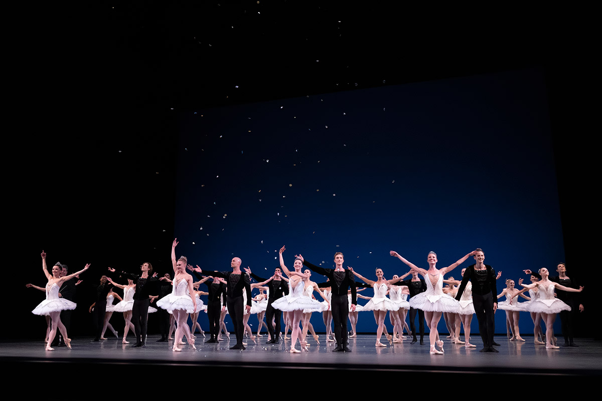 Bows after Balanchine's <I>Symphony in C</I>.<br />© Erin Baiano. (Click image for larger version)