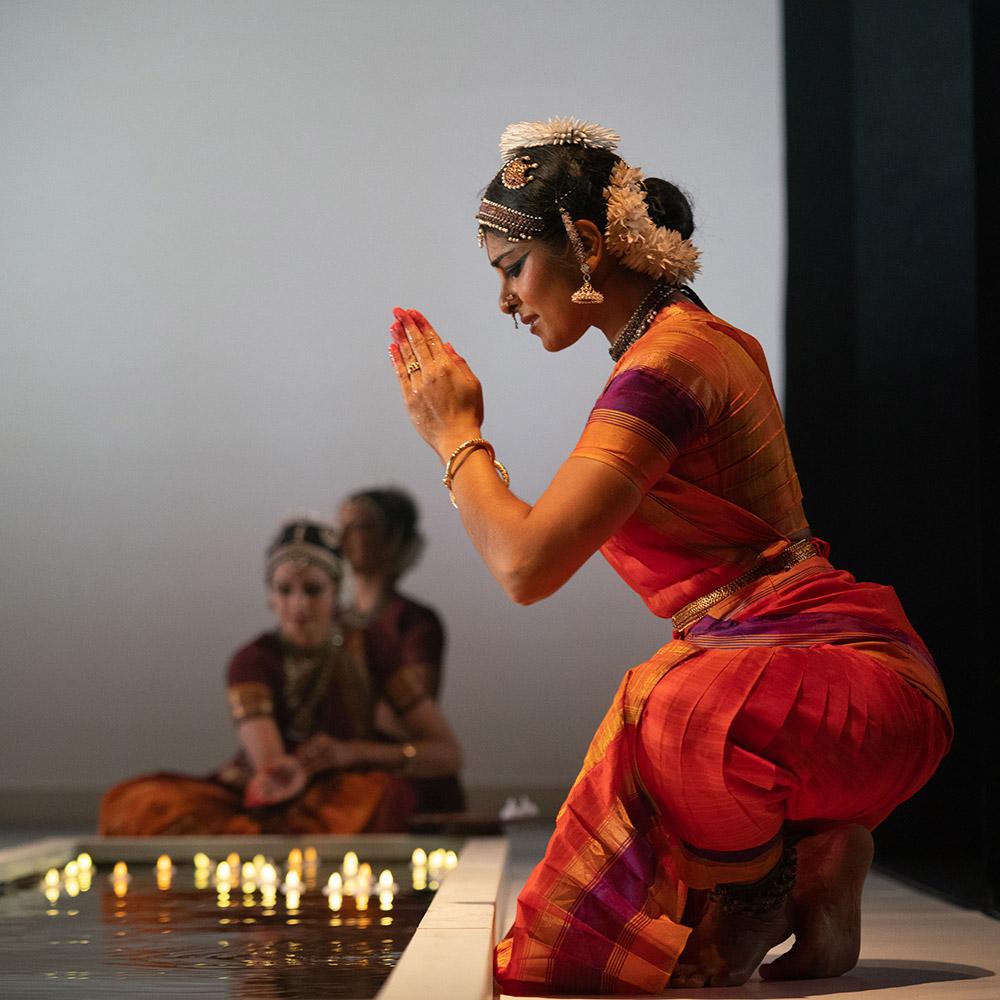 Ashwini Ramaswamy in Fires of Varanasi.© Steven Pisano. (Click image for larger version)