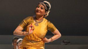 Ranee Ramaswamy in Fires of Varanasi.© Steven Pisano. (Click image for larger version)