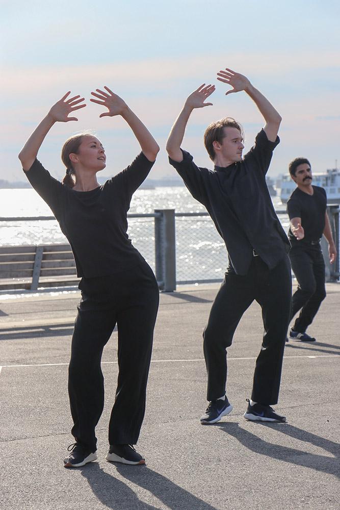 Mark Morris Dance Group in <I>Water</I>.<br />© Rachel Lee. (Click image for larger version)