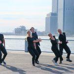 Mark Morris Dance Group in Water.© Rachel Lee. (Click image for larger version)