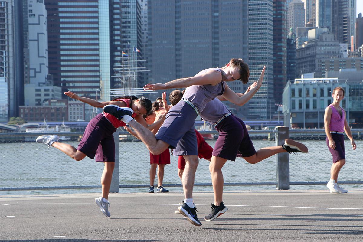 Mark Morris Dance Group in <I>Words</I>.<br />© Rachel Lee. (Click image for larger version)